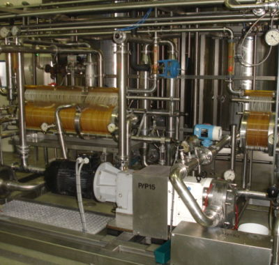 Ultrafiltrationsanlage Creamcheese